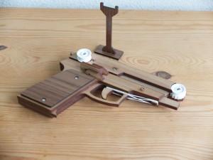 長距離射撃用輪ゴム鉄砲5