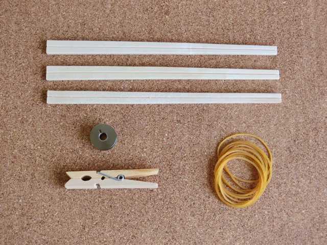 割り箸輪ゴム鉄砲の作り方_1