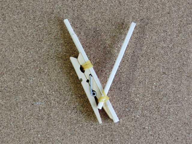 割り箸輪ゴム鉄砲の作り方_15