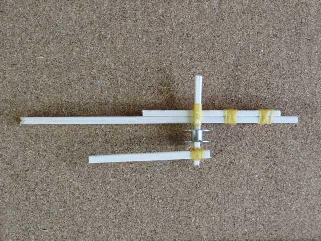 割り箸輪ゴム鉄砲の作り方_8