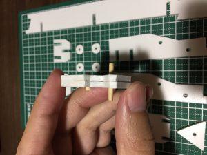 トリガー部品の接合2