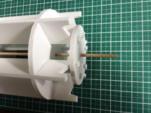ガトリング砲-銃身部品組付け2